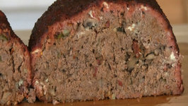 SmokingPit.com - Blue Cheese and Mushroom Meatloaf Slow Cooked on a Yoder YS640 Pellet Cooker