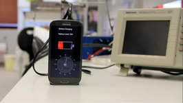 Device that can Fully Charge Smartphones in 30 Seconds