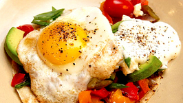 Huevos Rancheros With Sweet Pepper Relish