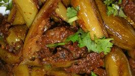 Curry Powder Stuffed Dondakaya Vepudu