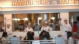 The Johnny Rockets Restaurant Review