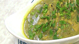 Dhokli - Spiced Dumplings with Black Eyed Peas