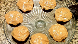 Guilt Free Chocolate Cupcakes with Peanut Butter Icing