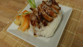 Geek Week Hatsune Miku's Teriyaki Chicken Don