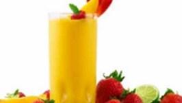 Mango Banana Shake With Yogurt