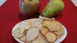 Apple and Pear Chips for Children