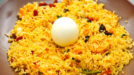 Spicy Schezwan Biryani