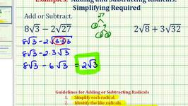 math worksheet : ex add and subtract square roots video by bullcleo1  fawesome tv : Adding And Subtracting Square Roots
