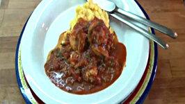 Shrimp in Tomato and Basil Sauce