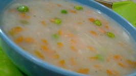 Veggie and Sabudana Soup
