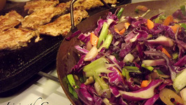 Tasty Sliced Pork Loin with Red Cabbage!!!