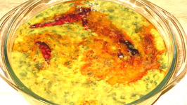 Indian Style Moong Dal With Spinach