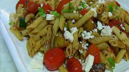 Quick Zucchini and CherryTomato Pasta Salad