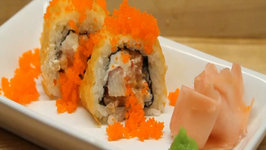 How to Make Sushi - Orange Rolls