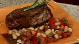 Steak and  Tuscan Bean Salad