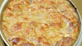 Potato And Mushroom Gratin Savoyard