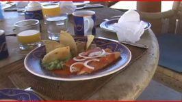 Ranchero Sauce, Refried Beans, Chiliquiles and Enchiladas