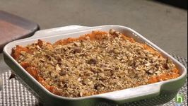 Baked Nutty Sweet Potatoes