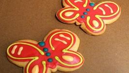 Cheese Biscuit Butterflies