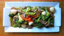 Filipino Beef Mushroom Broccoli Stir Fry