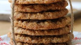 Apple Oatmeal Cookies