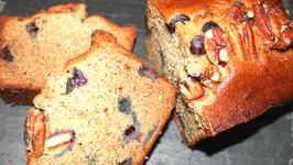 Easy Buttermilk Banana Blueberry Bread