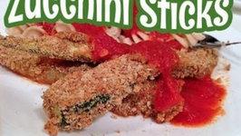 Baking Crunchy Zucchini Sticks