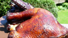 Smoked Chicken with Dipping Sauce