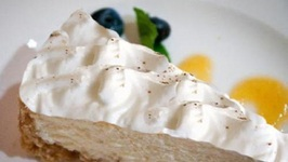 Frozen Eggnog Pie