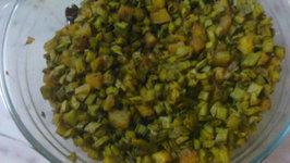 Beans with Potato - Stir Fry