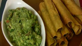 Super Bowl Recipe: Shredded Beef, Chile and Cheese Taquitos Baked and Fried