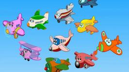 Edewcate English Rhymes : Ten Little Aeroplanes