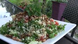 Mediterranean Tabouli and Quinoa Salad