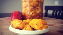 Punjabi Gobhi Da Achaar (How to make Cauliflower Pickle)