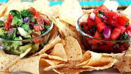 Homemade Salsa and Guacamole