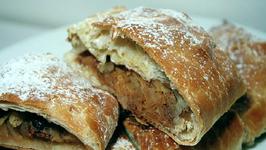 Apple Strudel - The Aubergine Chef