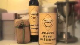 Natural Rice Bran Skincare Product Review