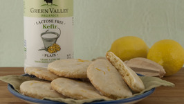 Lemon Kefir Cookies