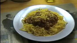 Meatball over Spaghetti