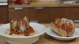 Weeknight Pork Pizza Meatballs