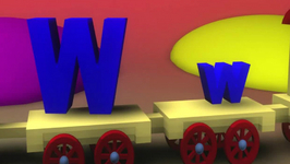 Letter W Song for Children 3D Animation Nursery Rhymes Video by