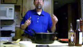 Pancit Part 1: Preparing Meat And Vegetables