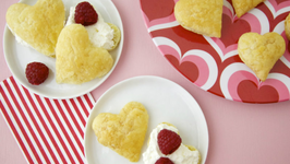 Weelicious's Puff Pastry Heart Valentine's Day Dessert for Kids