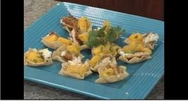 Tilapia Taco Bites with Fresh Mango Salsa