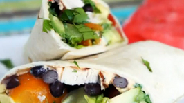 Santa Fe Chicken Wraps