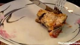 Baked Eggplant Parmesan for Dinner