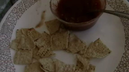 Mexican Cooked Salsa At Home and Quick Nachos