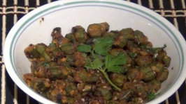 Besan Wali Bhindi - Indian Curry
