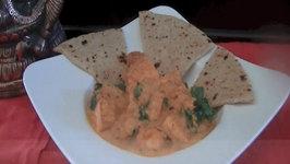 Butter Tofu Curry (Indian Vegetarian Food)