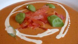 Cream of Tomato and Port Soup